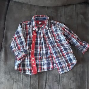 6 to 12 months Tommy Hilfinger button down shirt